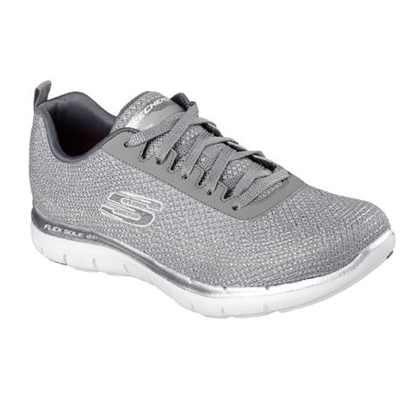 SKECHERS METALLIC EMBROIDERED W 1