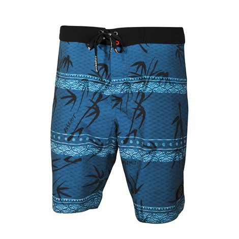 BASEHIT Palm Over Print Board Shorts 0