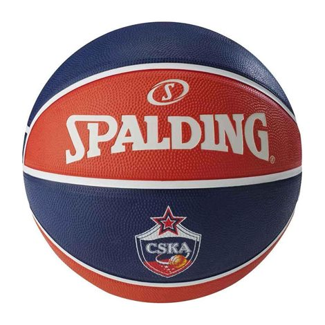 SPALDING EUROLEAGUE TEAM SIZE 7 RUBBER-BASKETBALL 0