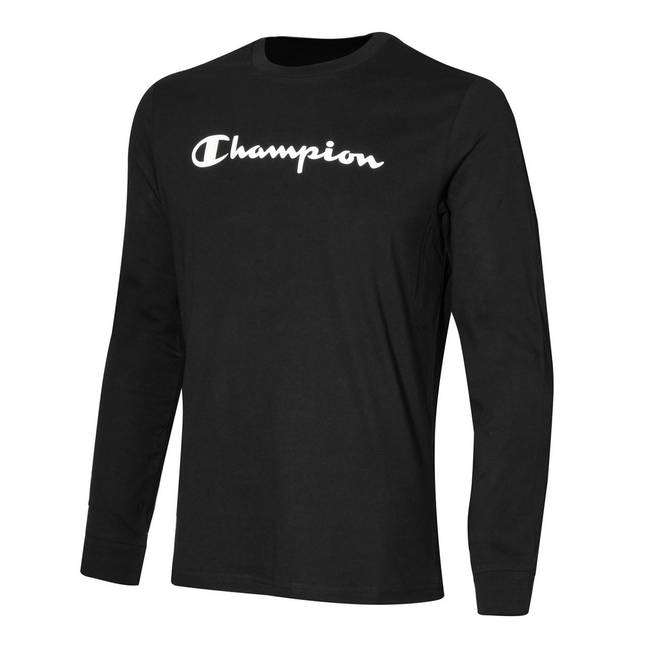 CHAMPION Long Sleeve Big Logo   Ανδρικά Μακρυμάνικα T-shirts ... 6a3917ad169