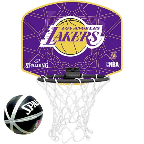 SPALDING NBA TEAM MICRO/MINI BB LAKERS 0