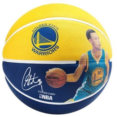 SPALDING NBA PLAYER STEPHEN CURRY 0